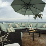 Green Outdoor Patio Furniture Set